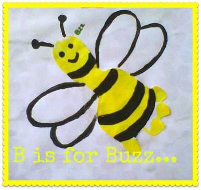 Letter Crafts Preschool Bee Footprint Bumble Activities