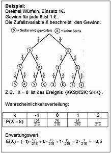 Binomialverteilung Berechnen : zufallsvariable erwartungswert ~ Themetempest.com Abrechnung