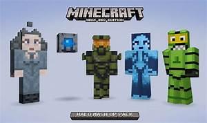 Minecraft Xbox Edition Nouveau Mash Up Pack Sur Halo FR