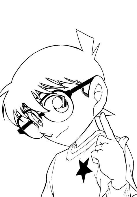10 Mewarnai Gambar Detective Conan 10 Mewarnai Gambar Detective Conan