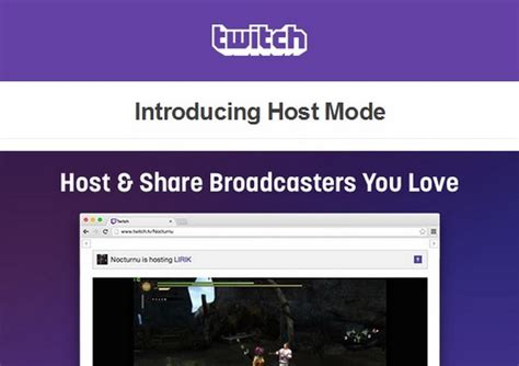 Host & Share Broadcasters You Love