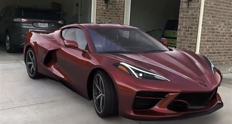 Cadillac With Corvette Engine by Mid Engine Corvette C8 Zeus Bronze Is A Cadillac Color