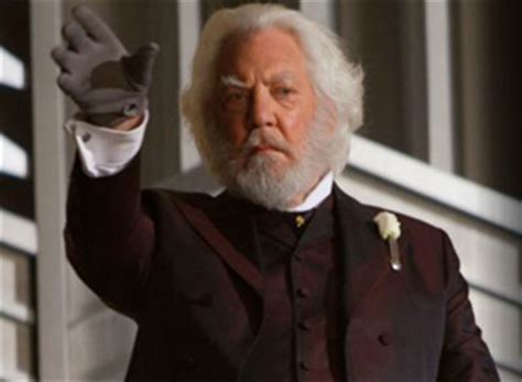 donald sutherland president snow president snow the real story