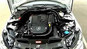 Mercedez Benz C250 Engine Compartment    Review Mercedez Benz Car
