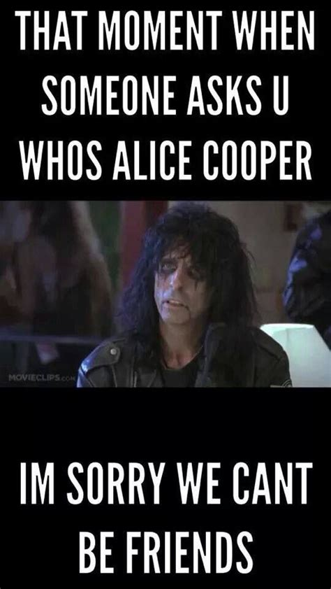 Alice Meme - my feelings totally lol alice cooper pinterest