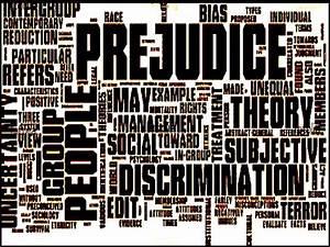 racism and prejudices