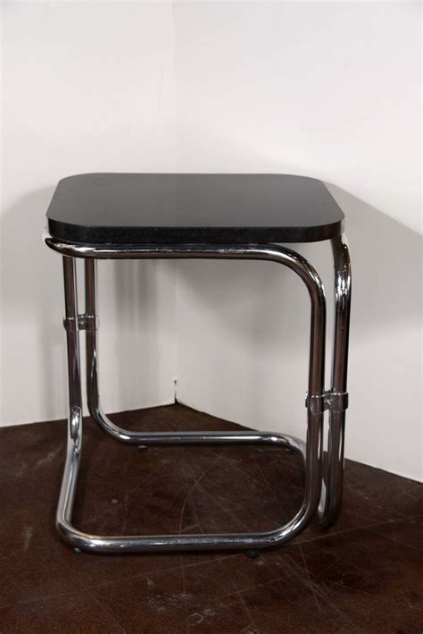 black and silver table ls contemporary french black and silver tables 28 quot h at 1stdibs