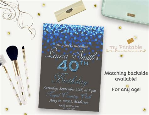 birthday invitations psd vector eps ai