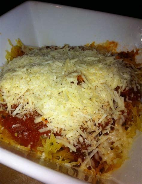 spaghetti squash recipie spaghetti squash recipe low fat recipes pinterest