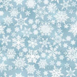 Light blue snowflakes pattern - Fox Graphics
