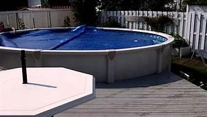 Enrouleur De Bache Piscine : rouleau invisible pour toile solaire de piscine enrouleur ~ Melissatoandfro.com Idées de Décoration