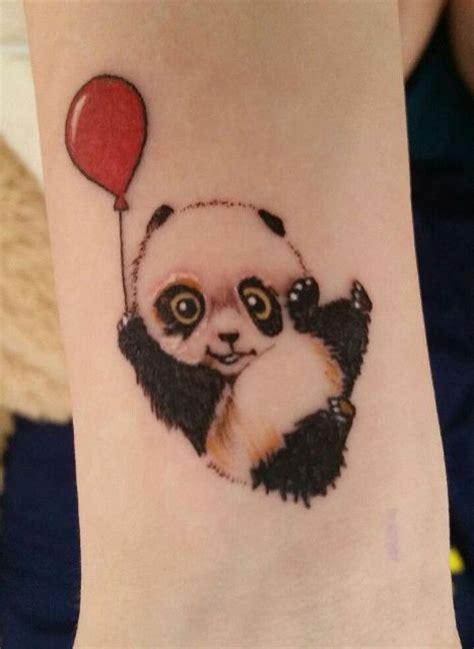 Watercolor Tattoos Tree small panda bear tattoo ideas  girls styleoholic 467 x 640 · jpeg