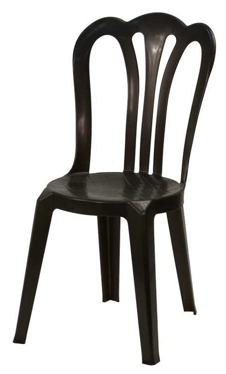 black plastic cafe vienna bistro stacking chair