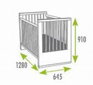 Dimension Lit Bébé Standard : meubles design salle dimensions lit bebe ~ Teatrodelosmanantiales.com Idées de Décoration