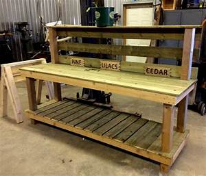 Potting Bench Made Easy Tree Planting with Organics