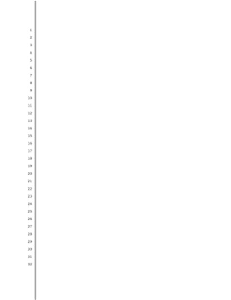 pleading paper printable blank pleading paper 32 lines 1 inch left and right margin border line