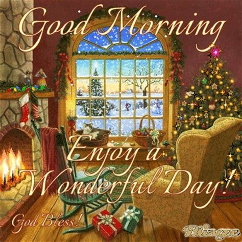 good morning enjoy  wonderful christmas day pictures