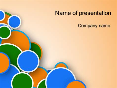 templates powerpoint gratis download free bubble powerpoint template for your presentation