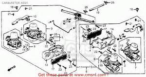 Honda Gl1100 Goldwing Aspencade 1983  D  Usa Carburetor