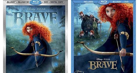 brave blu ray dvd release date november  pixar post