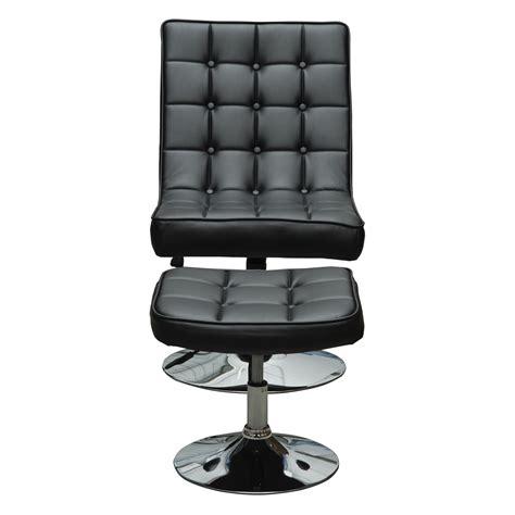 siege de relaxation fauteuil relaxation pivotant avec repose pieds