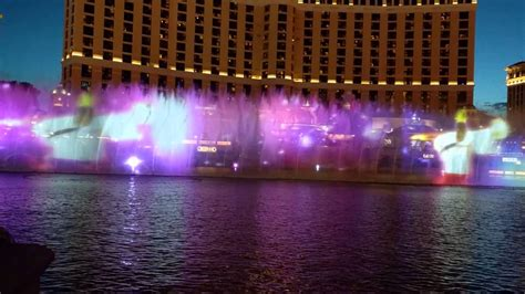 bellagio light show fountains light show bellagio las vegas