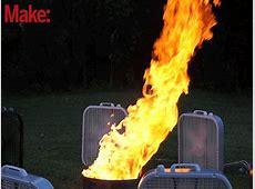 Create a 10FootTall Fire Tornado Make