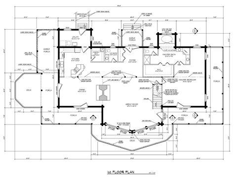 home plans runner up best multi level log home plan barna log homes