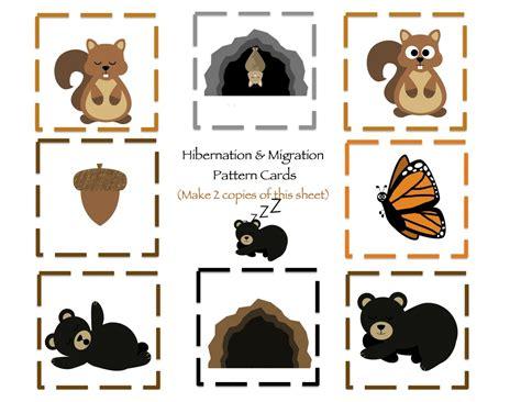 hibernation amp migration printable preschool preschool 906 | 4519e6a52df6f71099c431433777a509