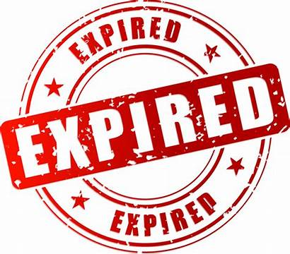 Expired Expire Stamp Clipart Vector Expiration Lease