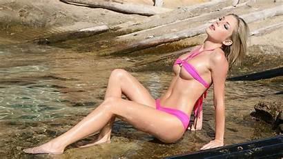 Wet Water Bikini Beach Tindra Julia Mantel