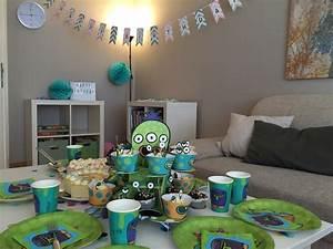 Deko 3 Geburtstag : motto monster party zum 6 geburtstag mamaskind ~ Whattoseeinmadrid.com Haus und Dekorationen