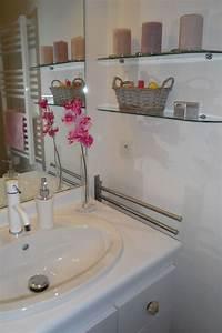 Tableau Pour Salle De Bain : comment relooker sa salle de bain mon blabla de fille ~ Dallasstarsshop.com Idées de Décoration
