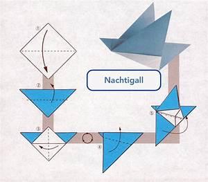 Origami Für Anfänger : origami vogel falten bedeutung der beliebtesten ~ A.2002-acura-tl-radio.info Haus und Dekorationen