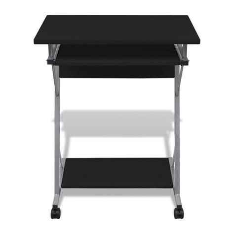 desk with slide out table vidaxl co uk computer desk pull out tray furniture