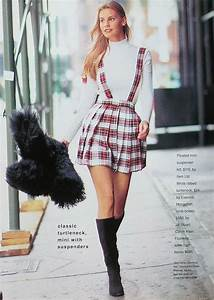 Inspire Me :: 90s Plaid Mini With Suspenders | StyleAlchemy™