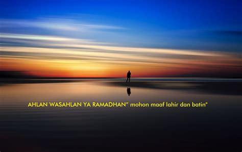 kata kata minta maaf menyambut bulan ramadhan  sms