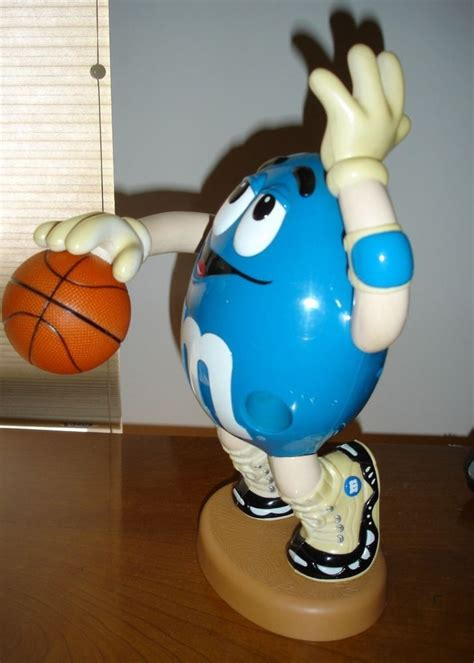 vintage blue  ms brand collectible basketball player
