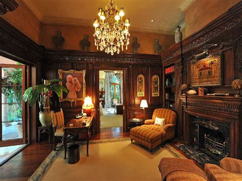 Home Interior Old Pictures : Old World, Gothic, And Victorian Interior Design
