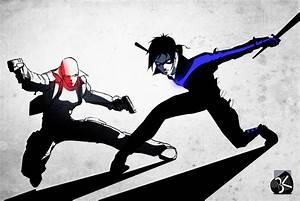 Nightwing redhood by TheBabman on DeviantArt