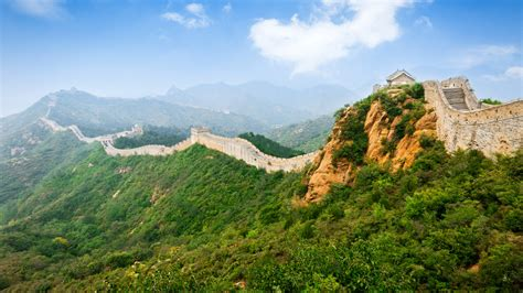 wallpaper great wall  china hd  world