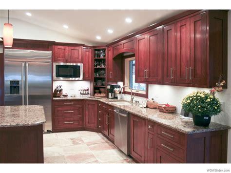 light cherry cabinets cherry cabinets stainless steel light floors n light