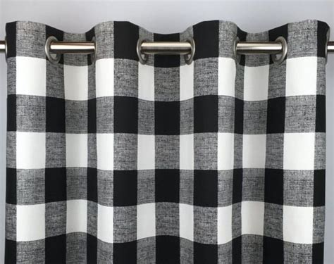 25+ Bästa Gingham Curtains Idéerna På Pinterest Curtains For Door Sidelights Black And White Shower Gold Curtain Rod Sliding Rods 120 Magnetic Outdoor Pergola Little Boy Room