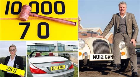 Britain's Most Expensive Number Plates