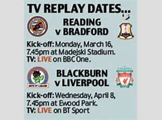 BT Sport choose to broadcast FA Cup replay between