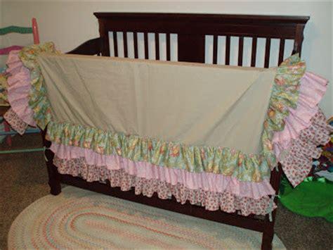 crib skirt pattern pile o craft layered crib skirt