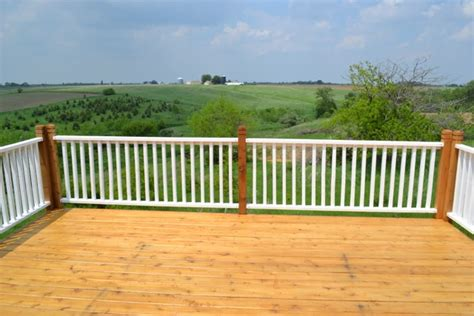 how to paint porch rails and stain a new deck newlywoodwards