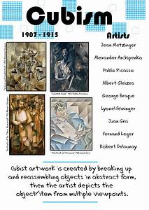 Cubism Poster