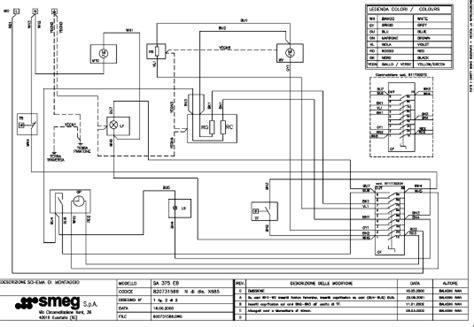 smeg sa9065xs wiring diagram smeg se375mfx5 cooker oven spares buyspares