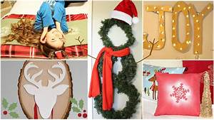 Decoration Noel Diy : 9 diy holiday winter room decorations gift ideas youtube ~ Farleysfitness.com Idées de Décoration